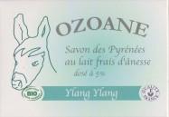Savon bio Ylang-Ylang au lait d'ânesse
