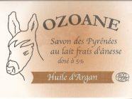 Savon à l'huile d'argan au lait frais d'ânesse
