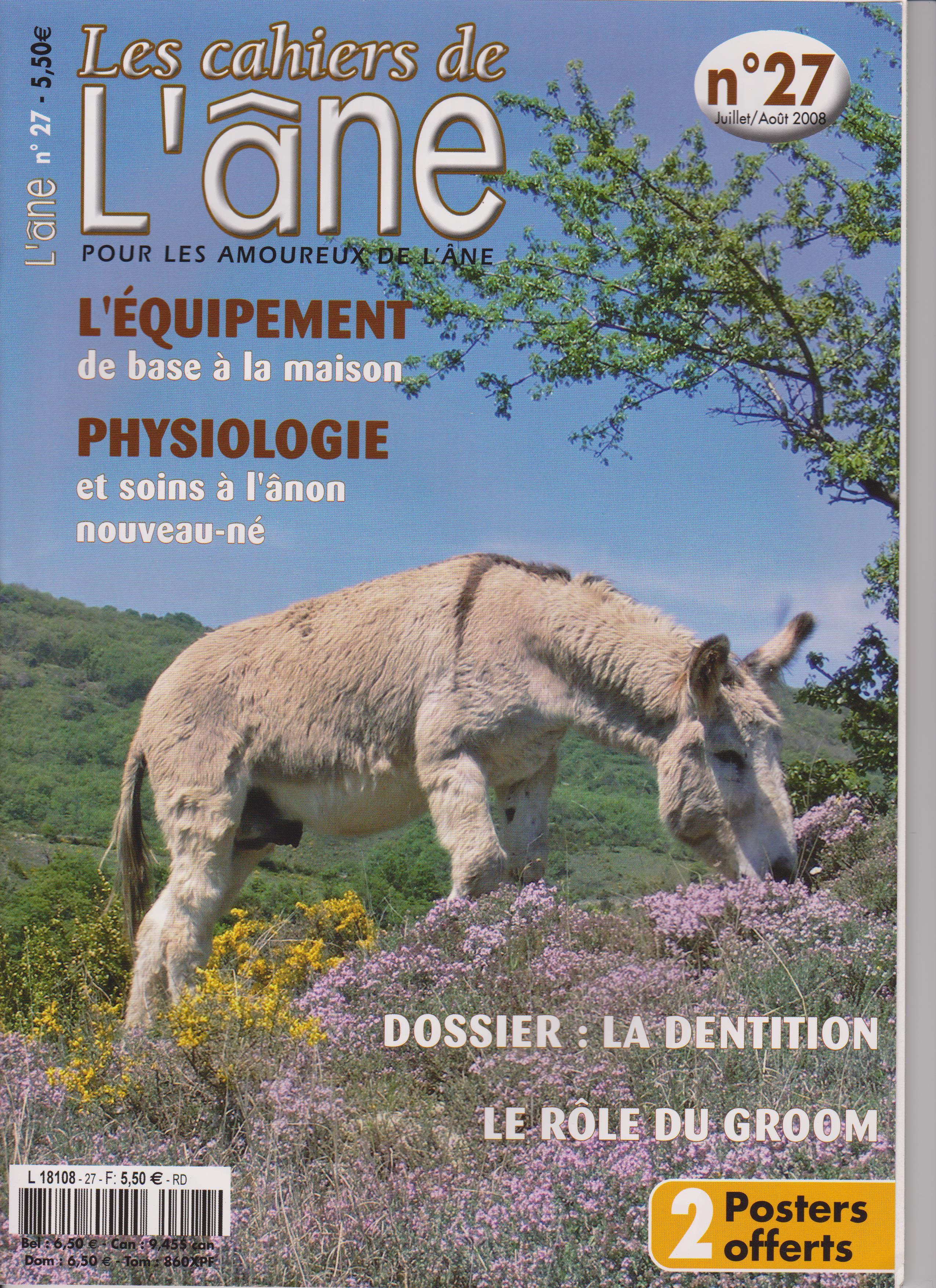 Les Cahiers de l'âne 27