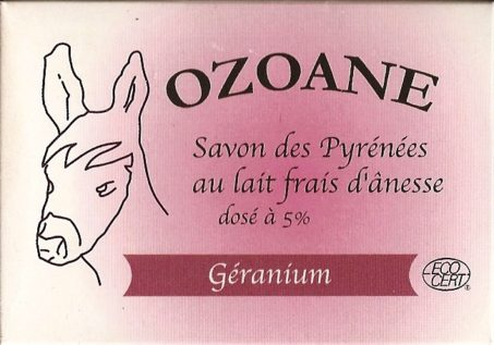 Savon bio geranium